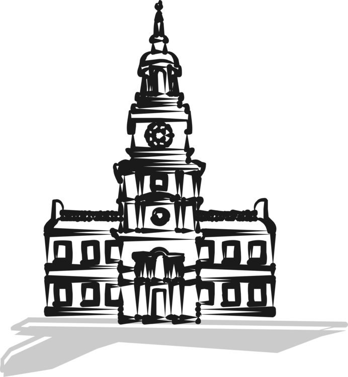 clipart freeuse Independence hall city new. Clip philadelphia
