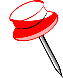 jpg royalty free library Pin Clip Art at Clker