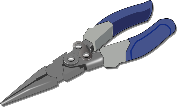clip transparent stock Pliers Clip Art at Clker