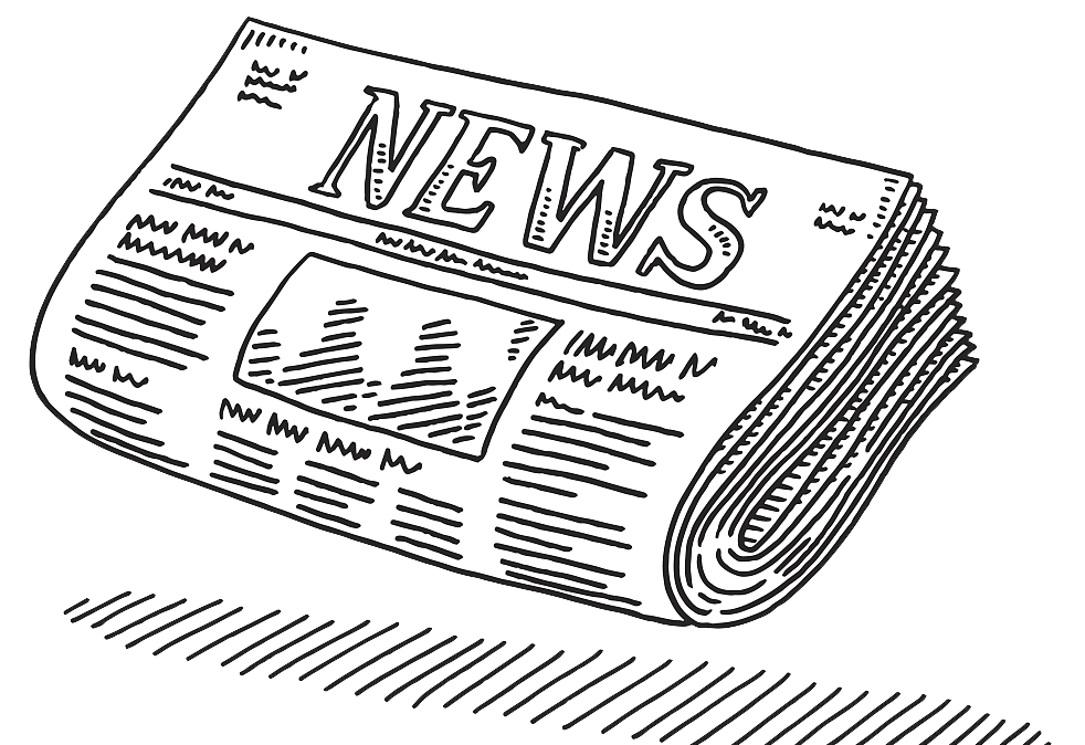 image free library Newspaper journalism clip art. Drawing topic pencil