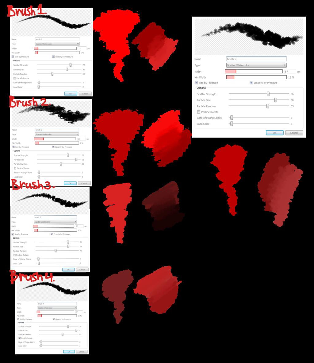 vector library stock brush settings by cheapkrabs
