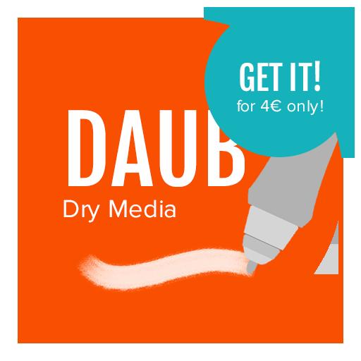 image library stock Dry Media Brushes for Manga Studio