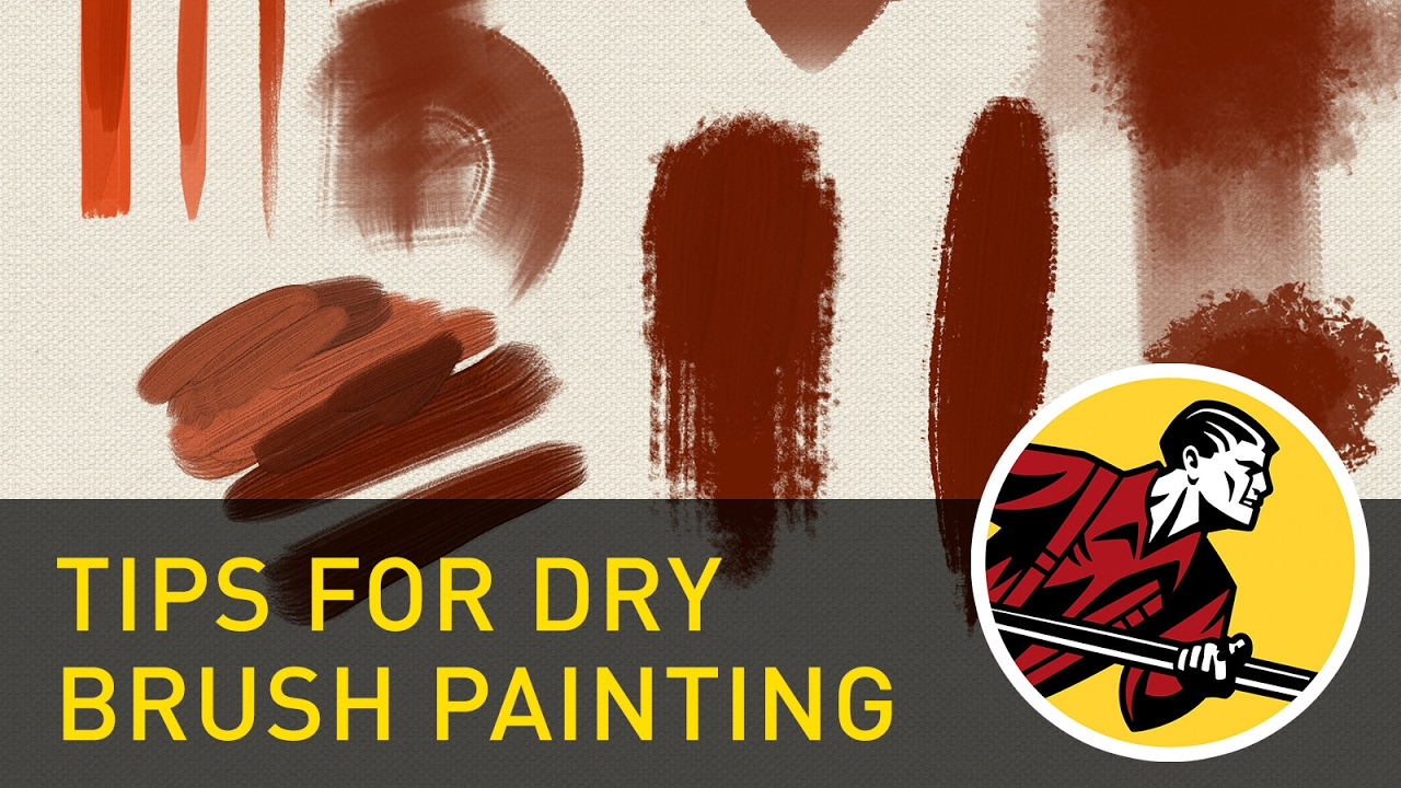 clip art library download Tips For Dry Brush Painting