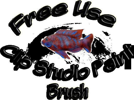 graphic free library Clip Studio Paint Fish Brush