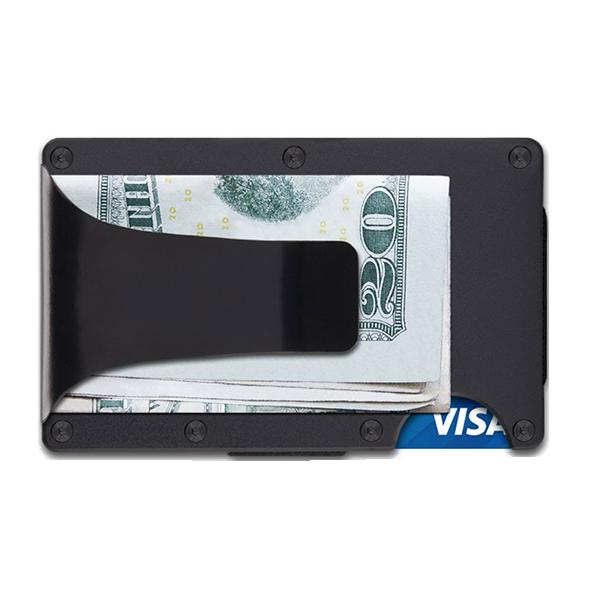 vector library download Ridge Black Aluminum Wallet
