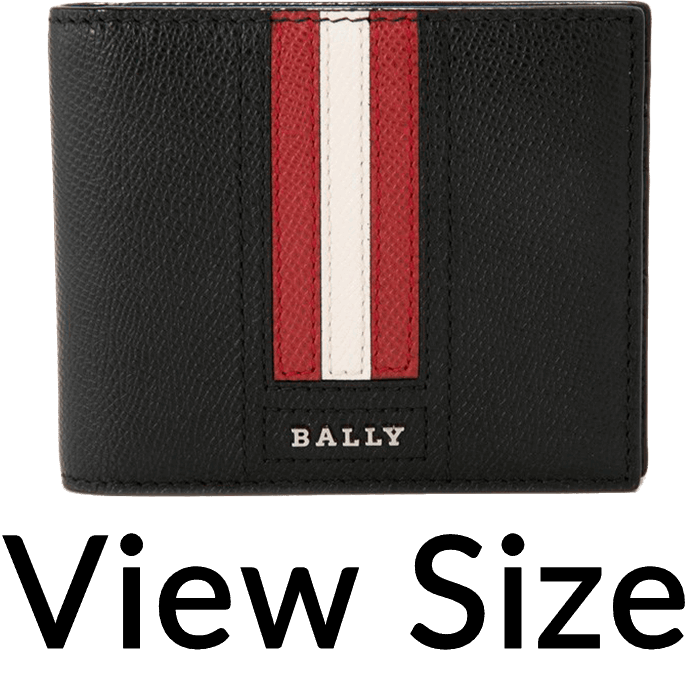 image freeuse stock Bally Tarrish Bifold Wallet With Money Clip