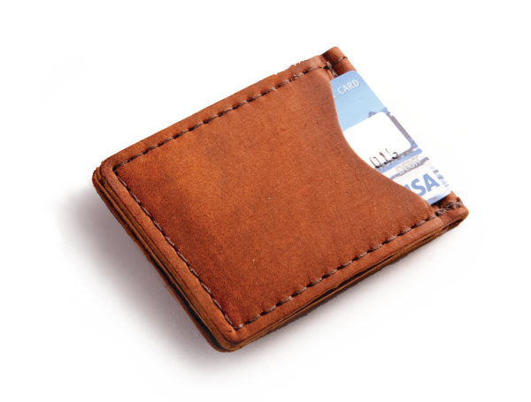 banner free stock Leather Wallet