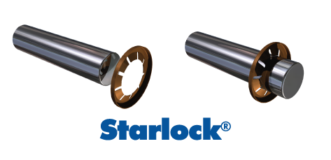 stock Starlock Push On Fasteners from Baker and Finnemore
