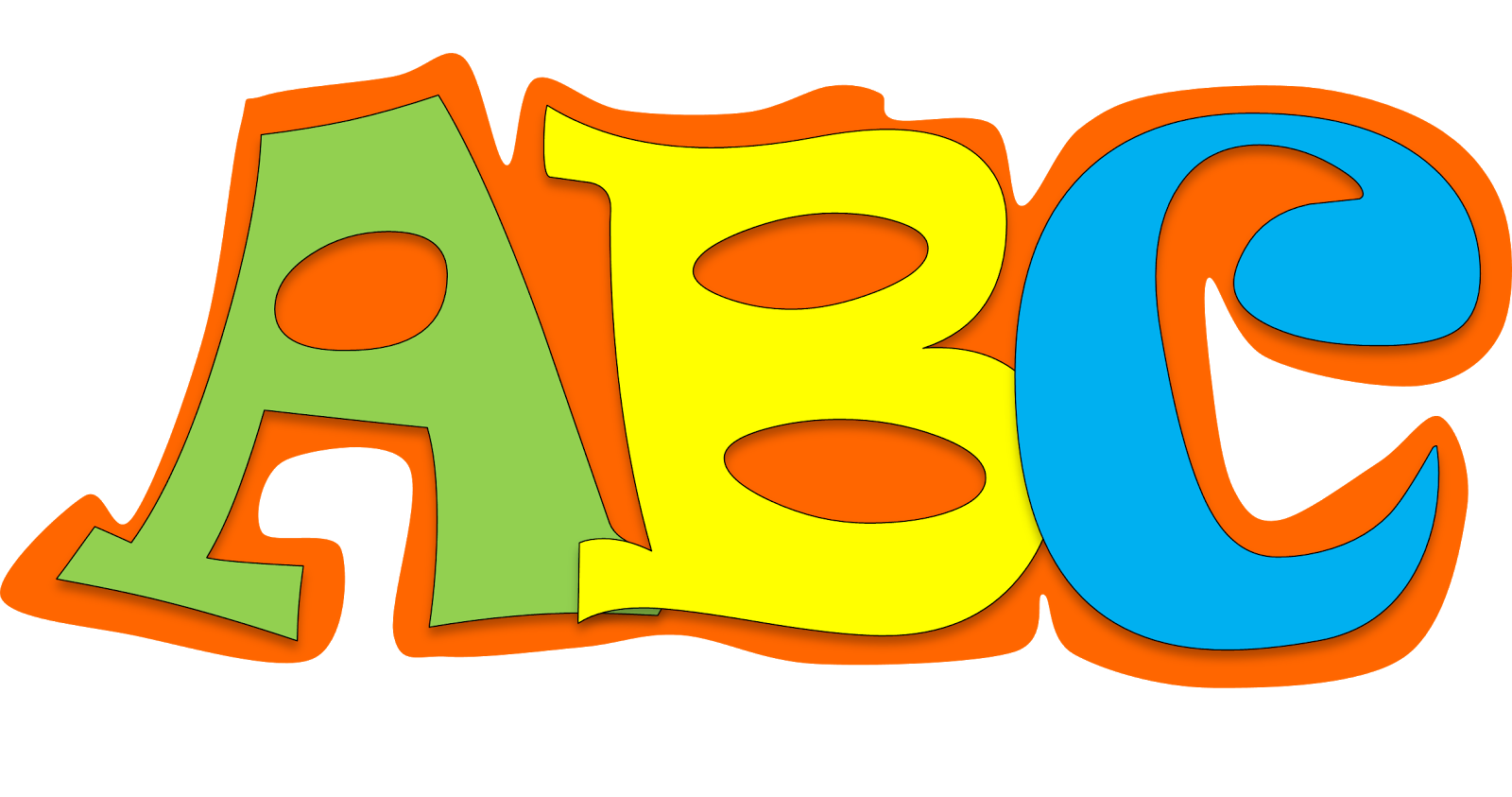 jpg library Clipart abc. Clip art images illustrations