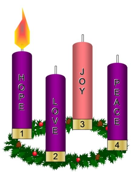 picture royalty free library  awesome catholic embossing. Clipart advent wreath