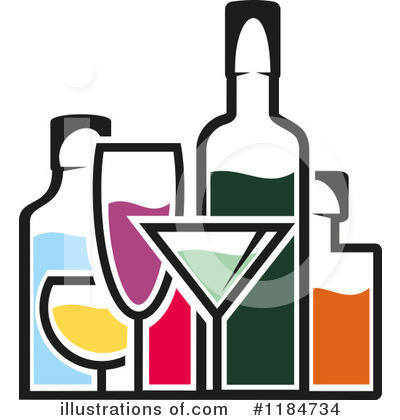 clipart royalty free download Clipart alcohol. Illustration by vector tradition.