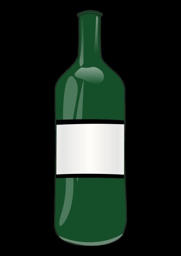 image freeuse download Bare clipart . Vector bottle transparent