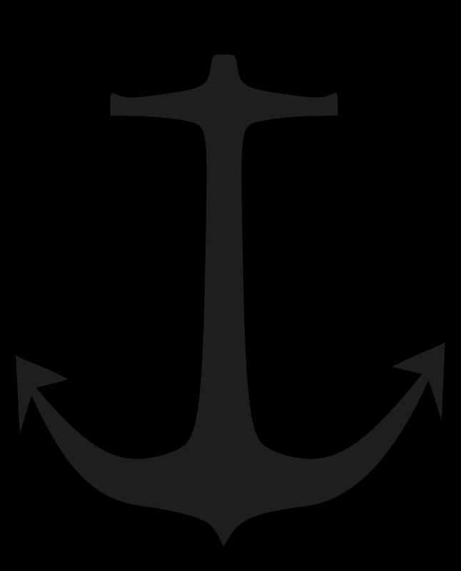 clip library library Boat clip art for. Vector anchors sea anchor