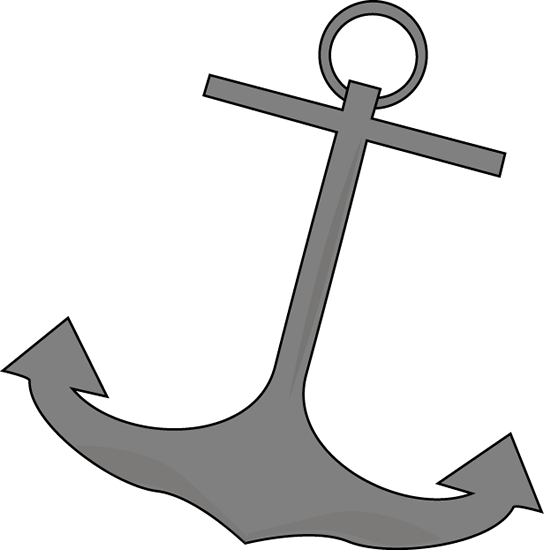 clipart royalty free library Boat Anchor Clip Art