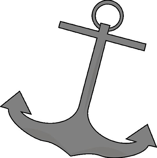 jpg library stock Clip art image nautical. Vector anchors boat anchor