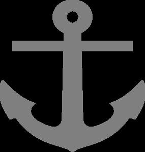 jpg free stock Gray Anchor Clip Art at Clker