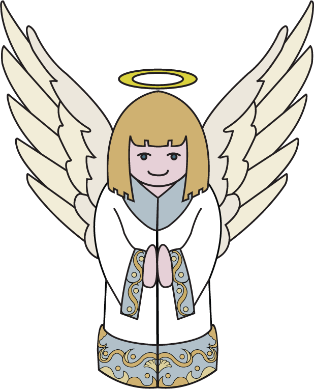 free download Free christmas cliparts download. Vector angel clip art