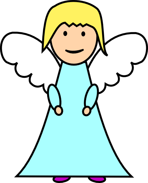 banner royalty free download Angel Clip Art at Clker
