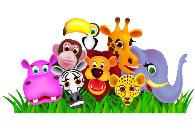 picture black and white library Animals clipart color. Herd of .