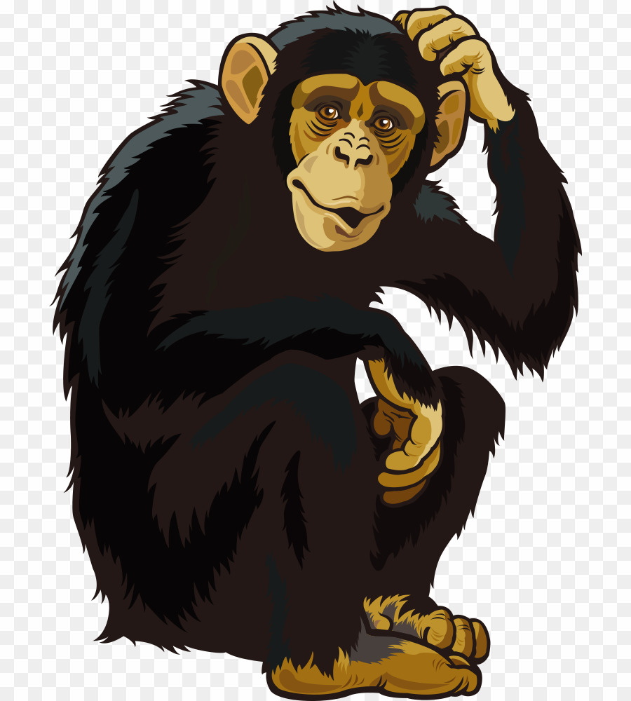 svg free library Monkey png download free. Clipart ape