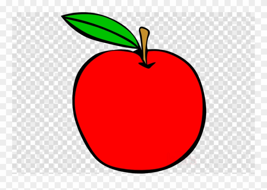 png transparent download Red apple clip art. Clipart of apples