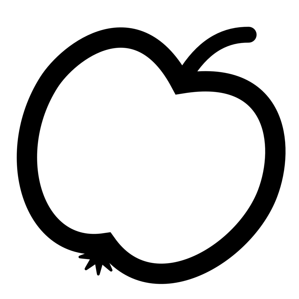 clipart library stock Black and white raindrop clipart. Of apple in typegoodies