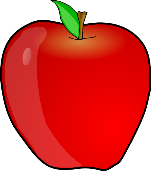 png royalty free stock Another apple clip art. Clipart apples.