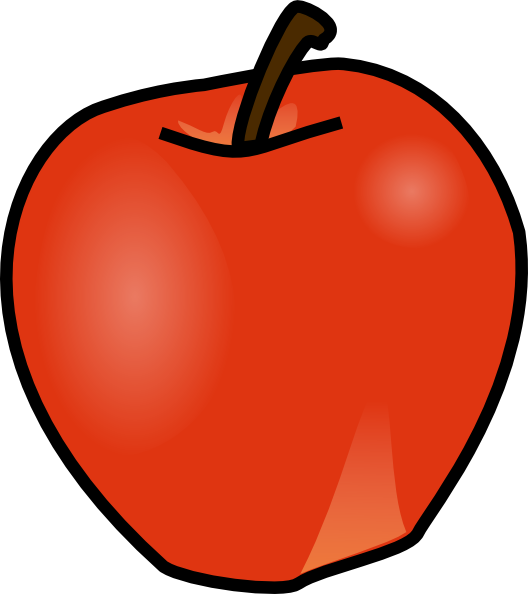 clipart royalty free Clipart apples. Apple panda free images