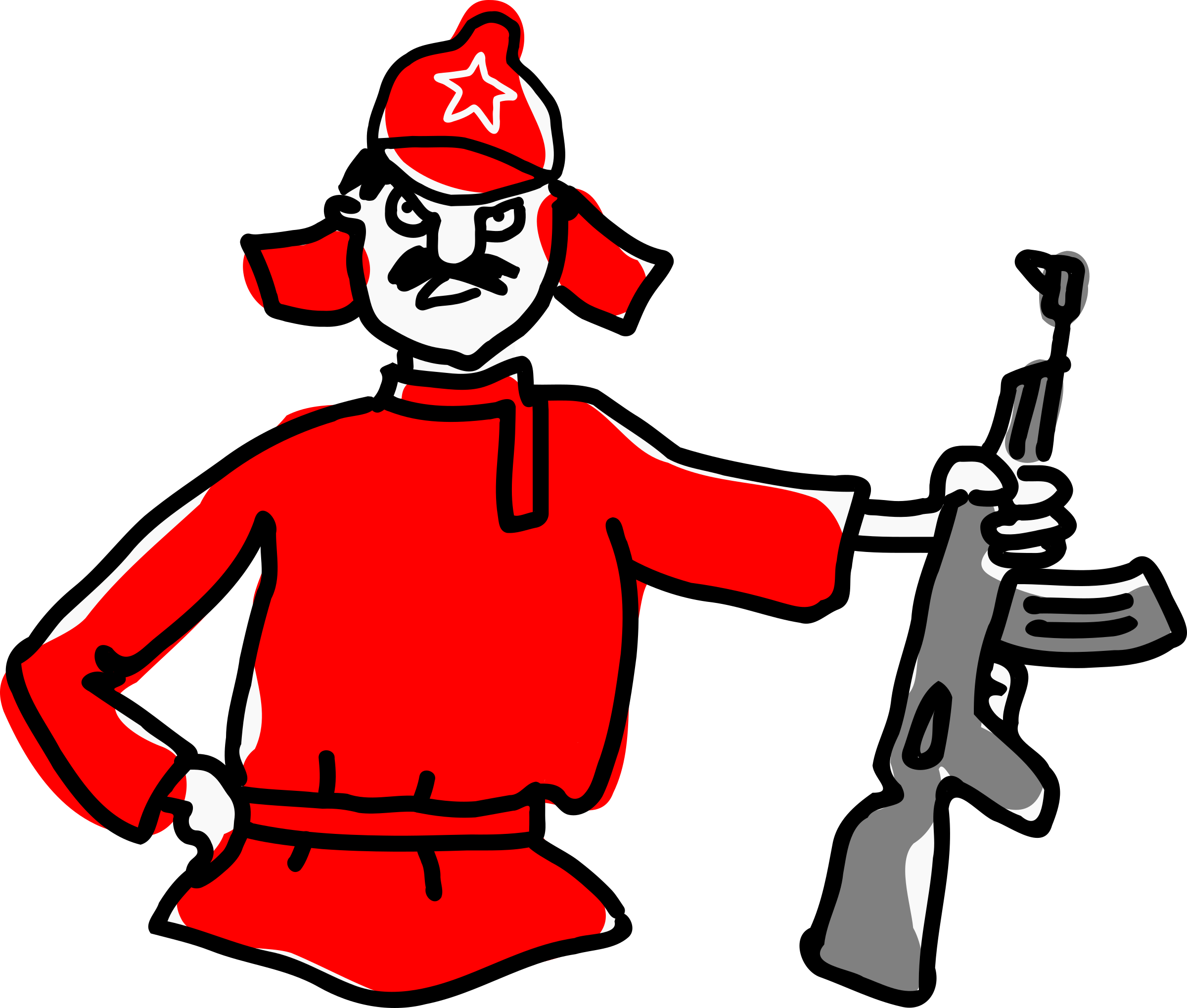 banner stock Red big image png. Clipart army soldier