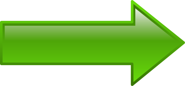 banner transparent Green clip art at. Clipart arrow pointing right.