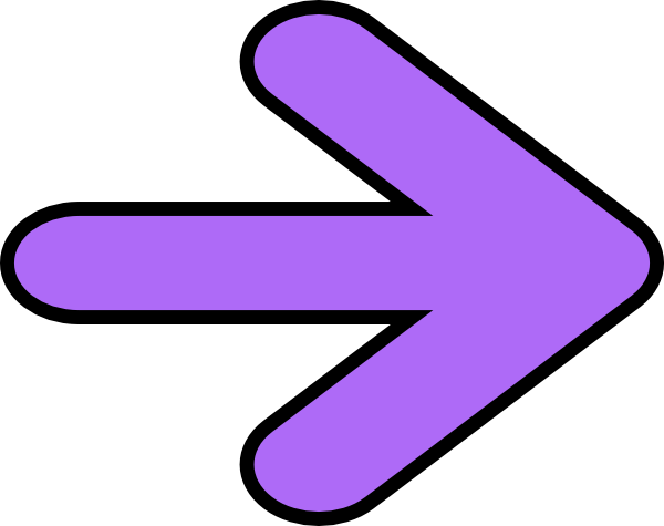 jpg freeuse library Clipart arrow pointing right. Purple clip art at