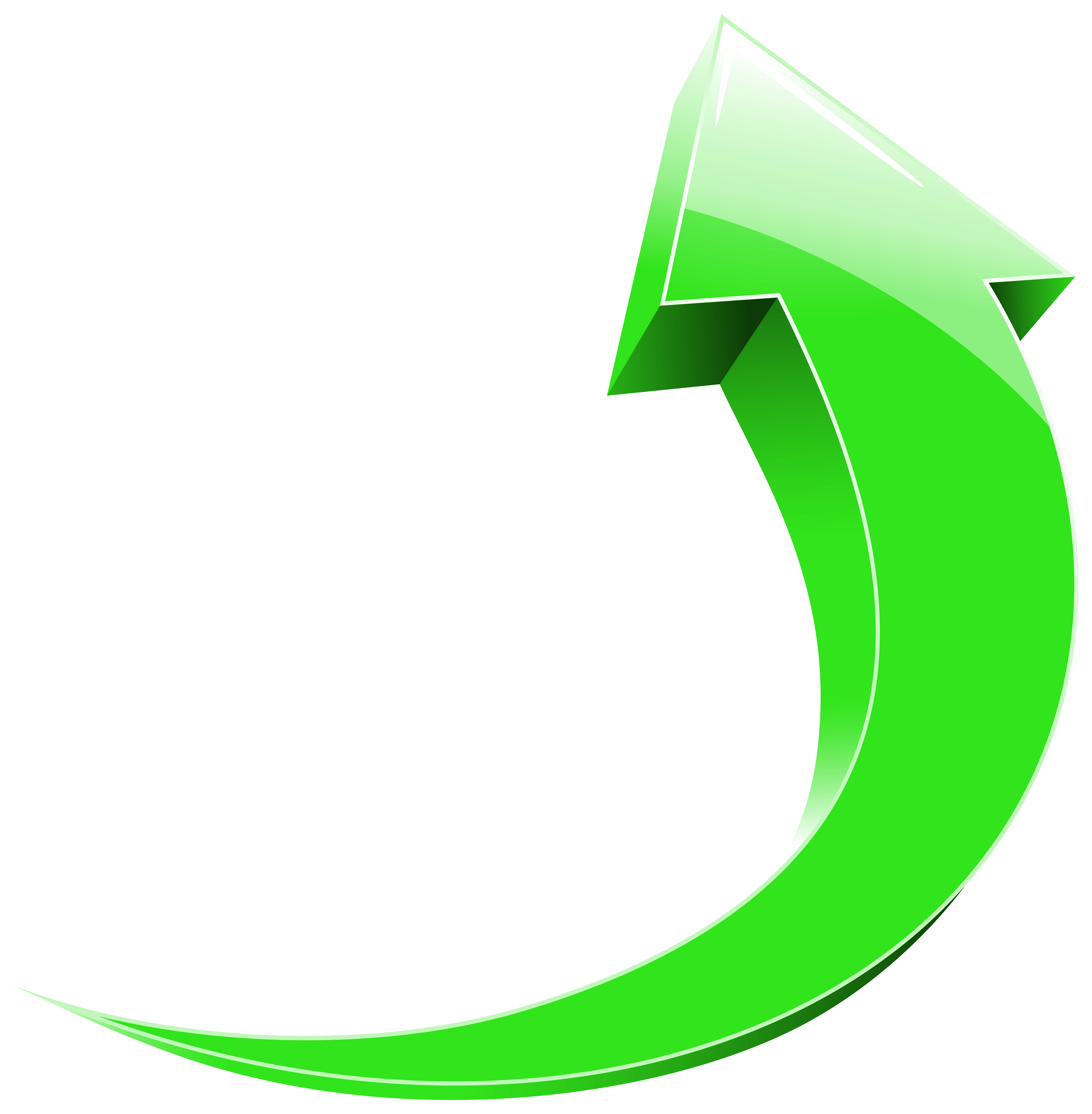 image free stock Up green transparent png. Wavy arrow clipart