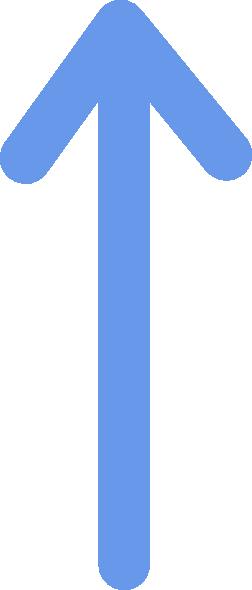 svg freeuse Blue arrow clipart. Clip art vector panda.
