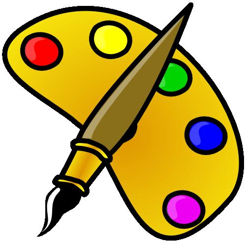 graphic free library Paint best hasslefreeclipart regular. Clipart art supplies