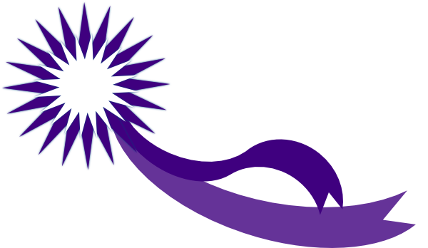 graphic Purple Award Ribbon Clip Art at Clker