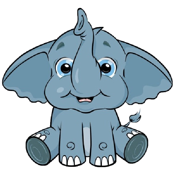 vector freeuse download Elephant Head Clipart at GetDrawings