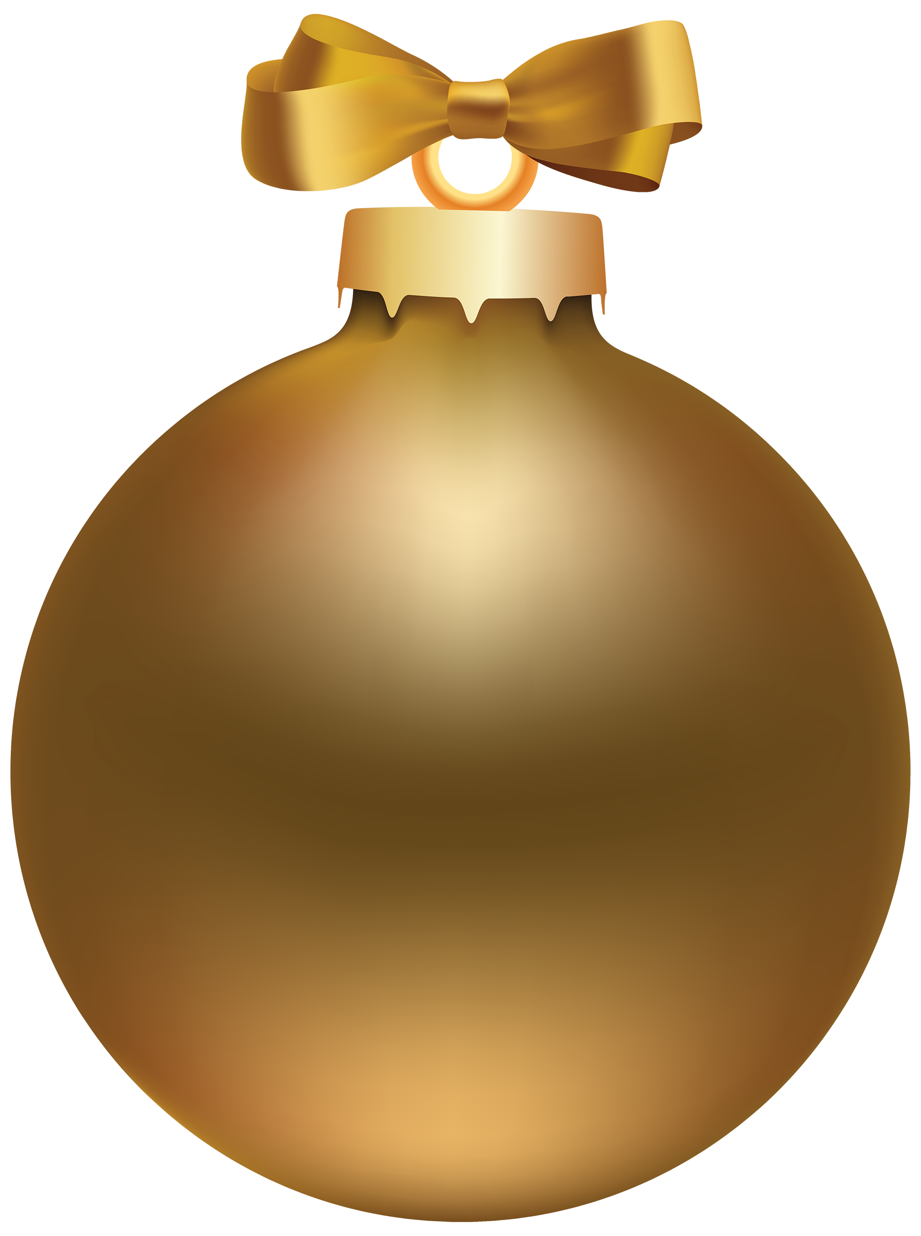 graphic transparent Style christmas ball png. Golden clipart cartoon