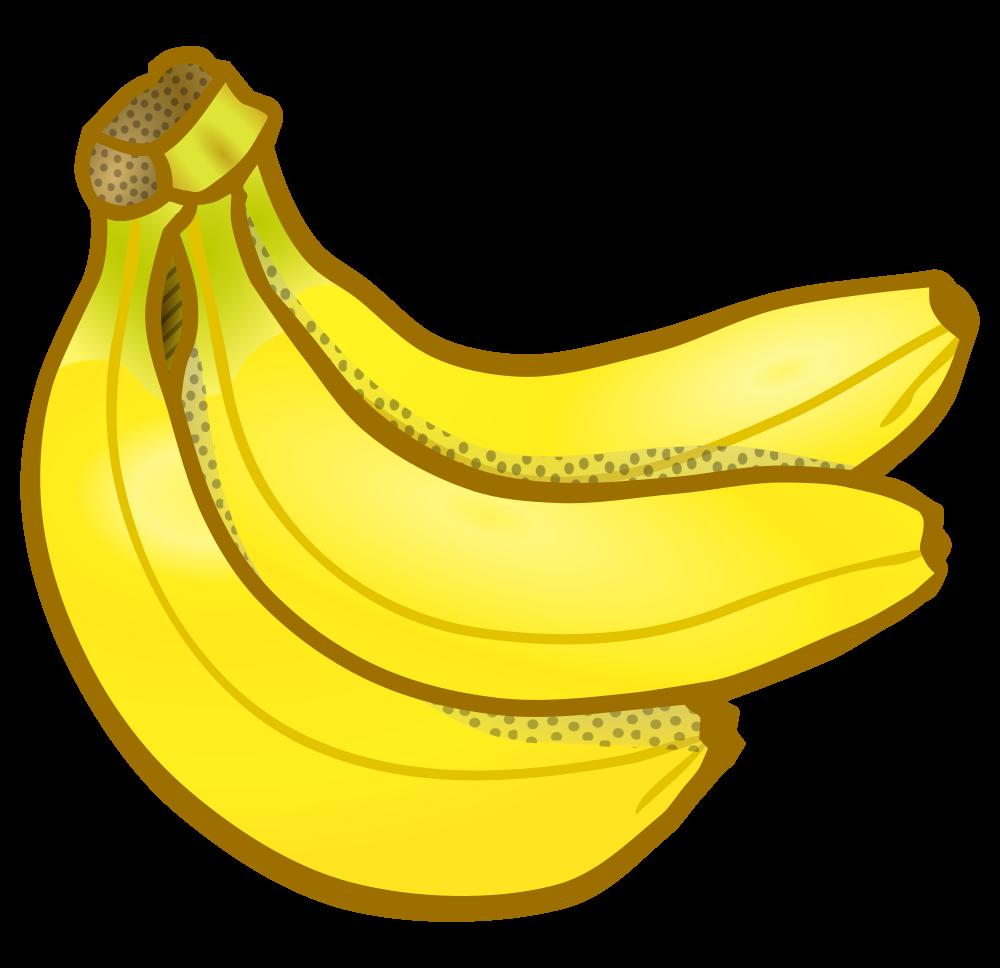 picture transparent stock Bananna clip bunch. Onlinelabels art of bananas