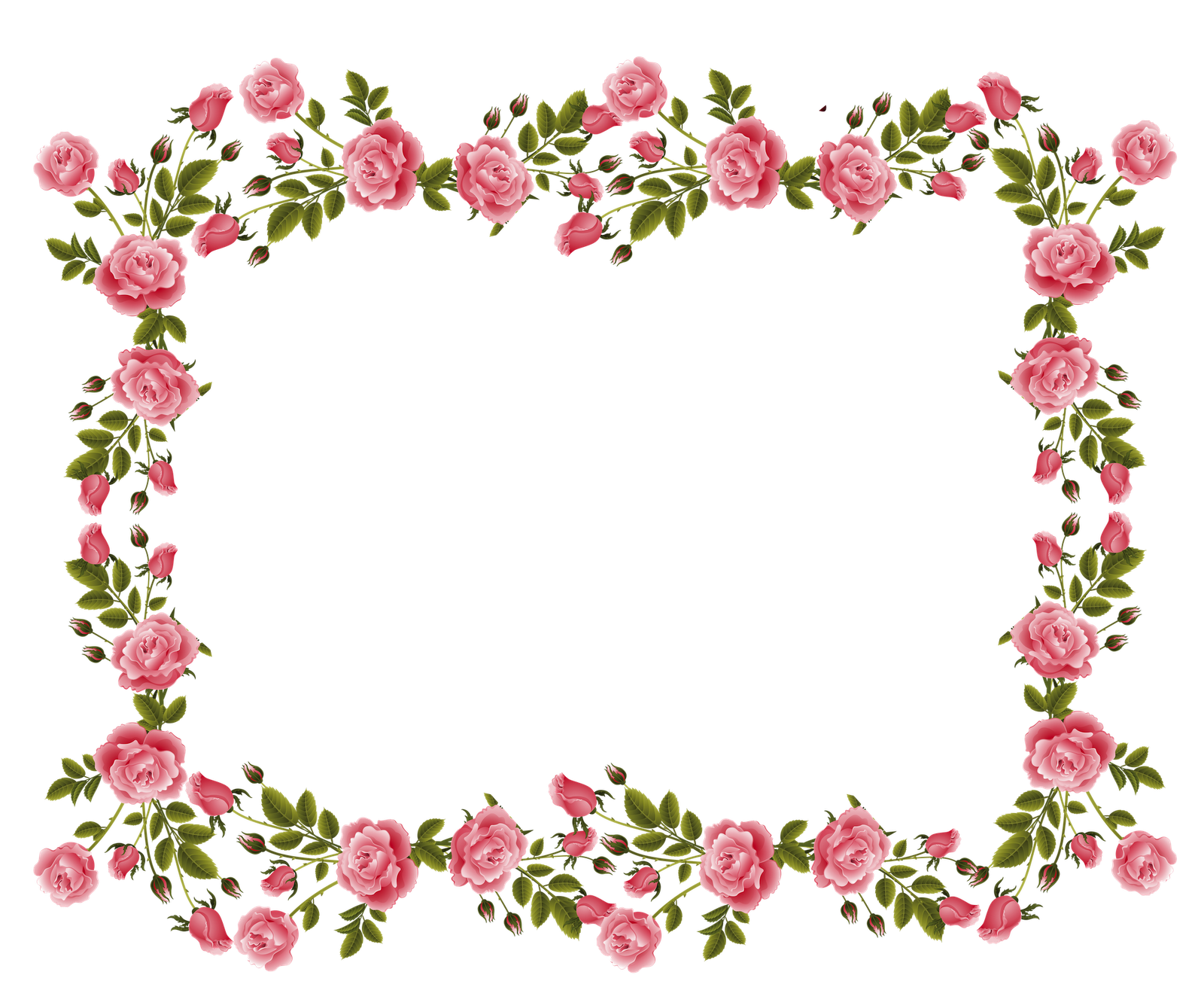 picture download rose border clipart