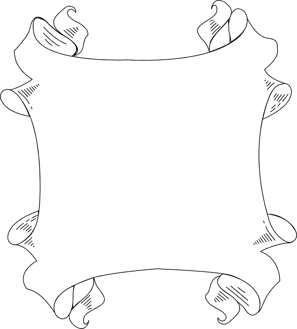 clipart black and white Border free stock photo. Clipart banners borders