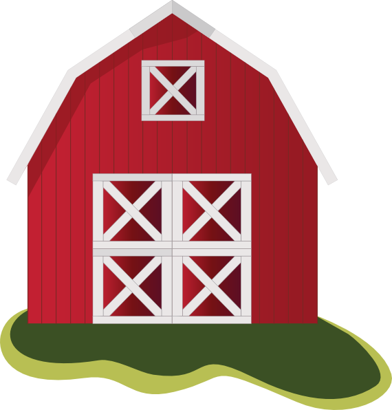 clipart library library Simple Barn Clipart