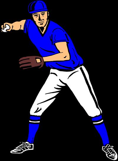 clipart transparent Man clipart baseball. Clip art player panda.