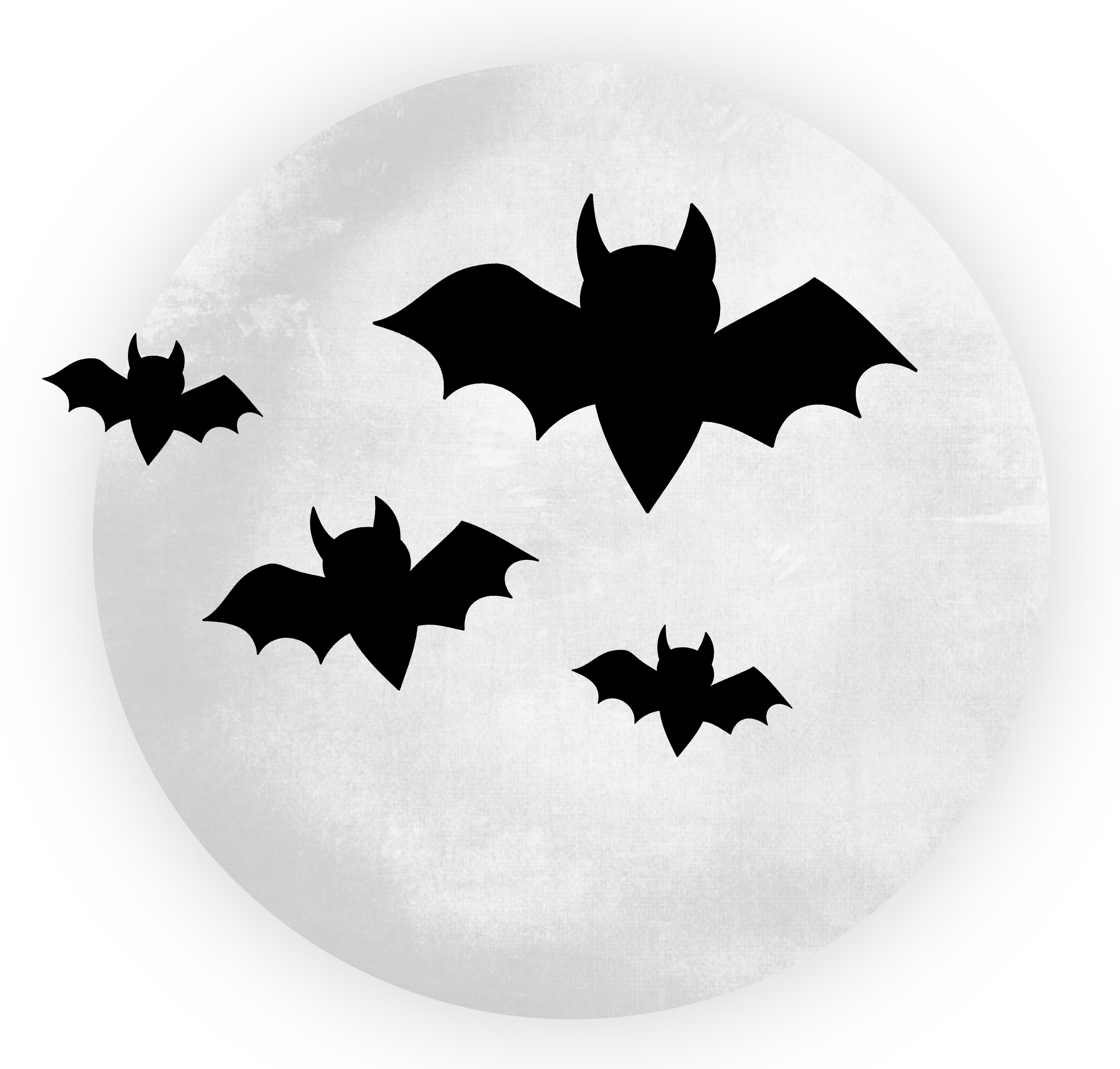 clip free library Halloween clipart bat. Large transparent moon with