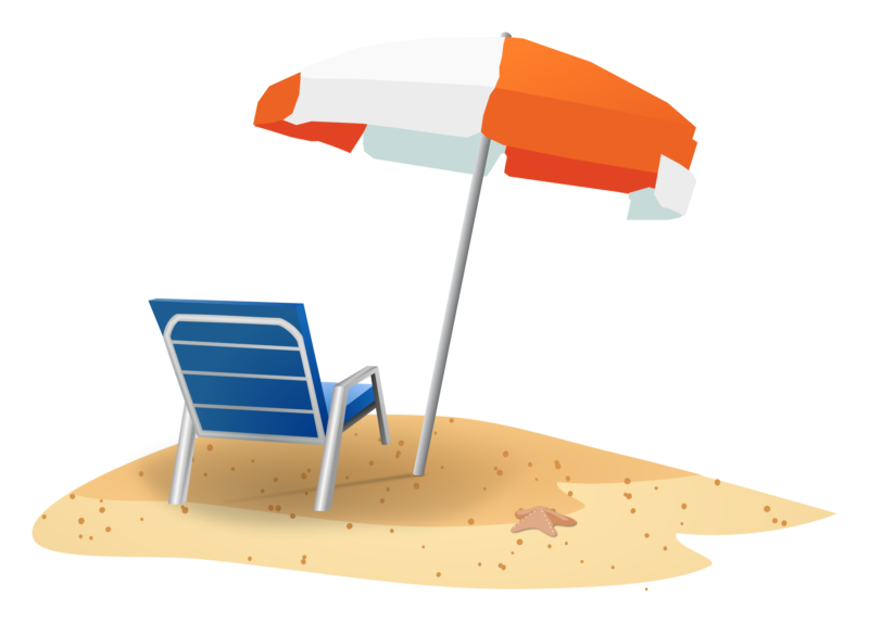 clip transparent library free beach clipart images #57860954