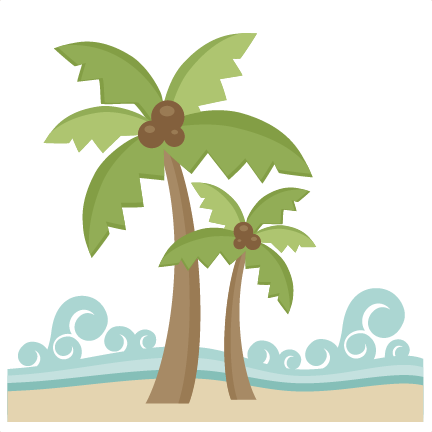 picture freeuse download Miss Kate Cuttables Beach Scene SVG Cut File