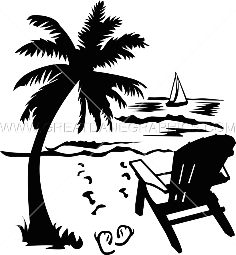 graphic free Beach Clipart drawing