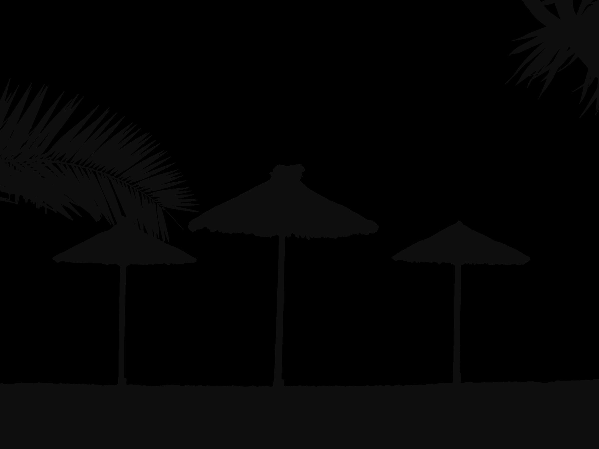 clipart transparent download Beach transparent tropical. Clipart silhouette big image