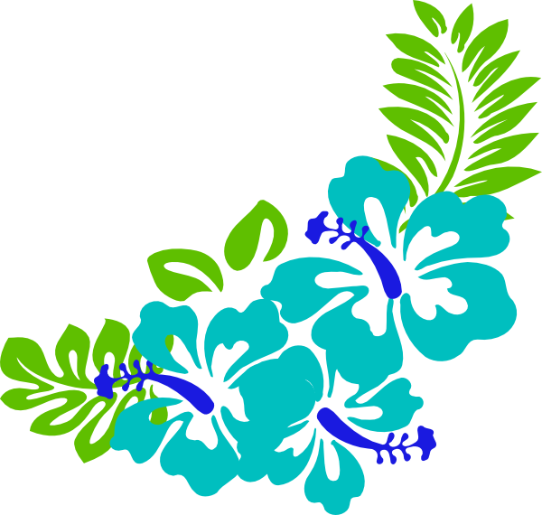 svg free stock Beach transparent tropical. Leaves clipart blue green