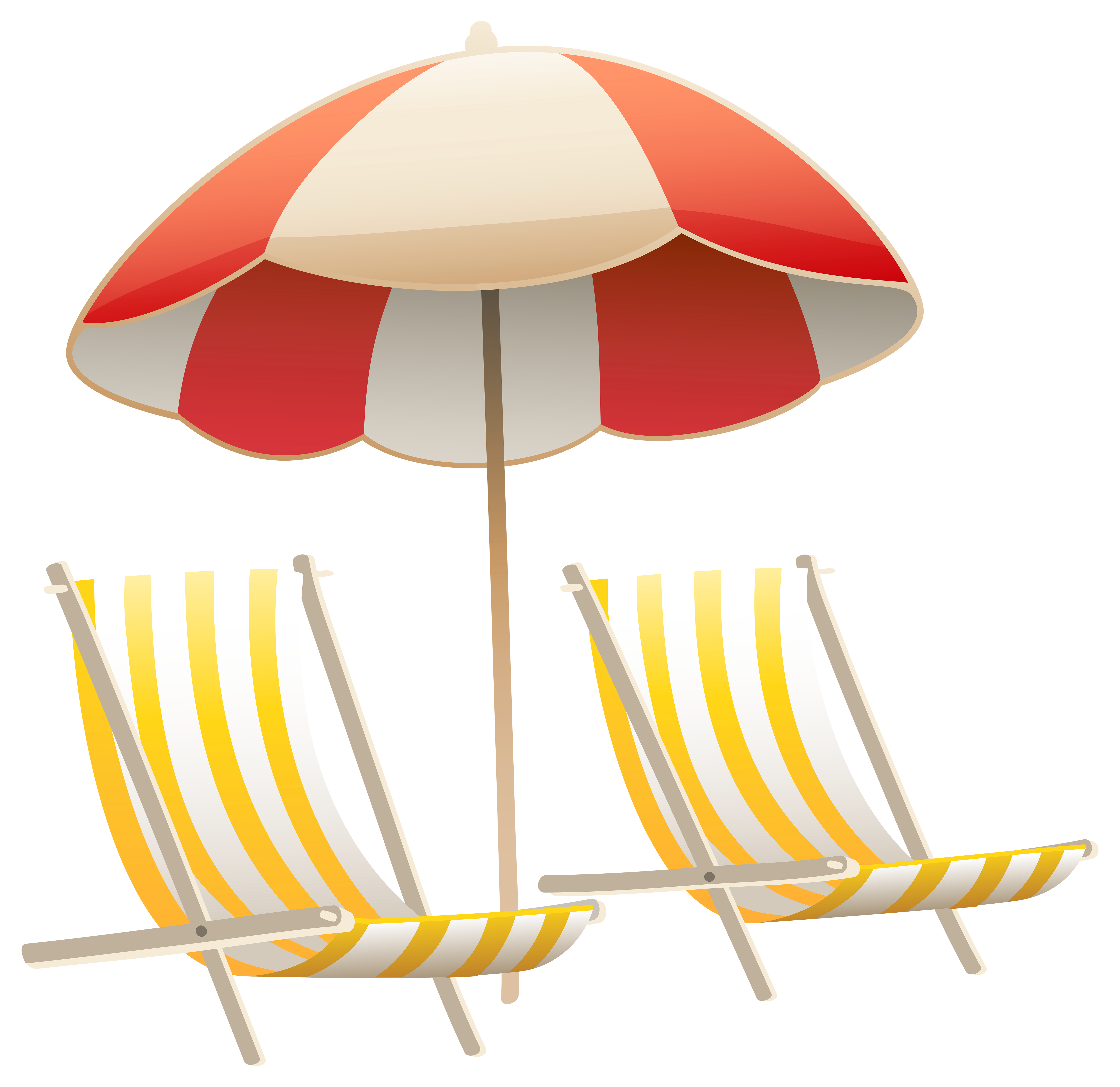 clip art library stock Umbrella and chairs png. Beach transparent cartoon