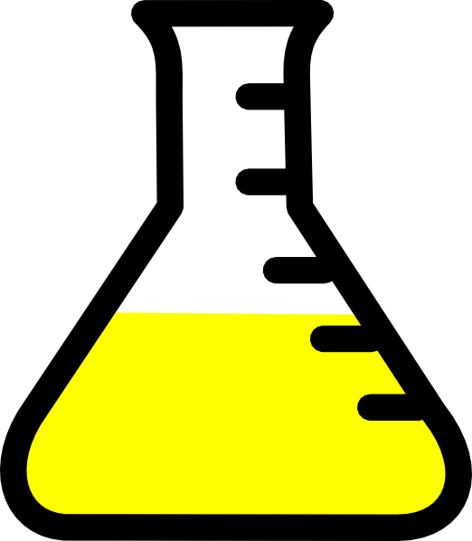 banner stock Beaker transparent science. Clip art at clker
